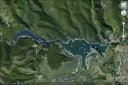 Lacul Cincis pe Google Earth