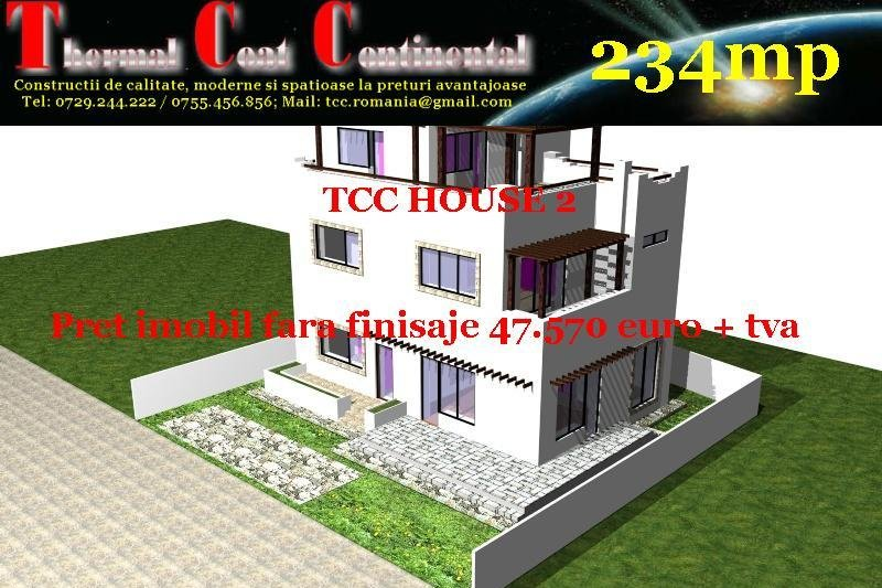 Vile noi: TCC HOUSE2, P+2E=234mp