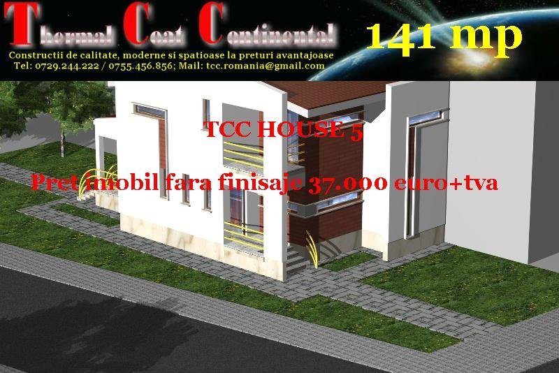 Case noi: TCC HOUSE 5, P+E=141mp