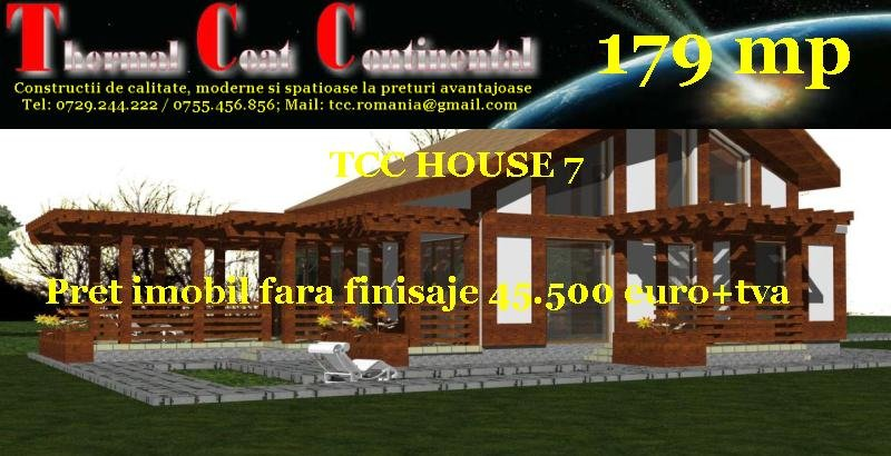 Case noi: TCC HOUSE 7, P+M=179 mp